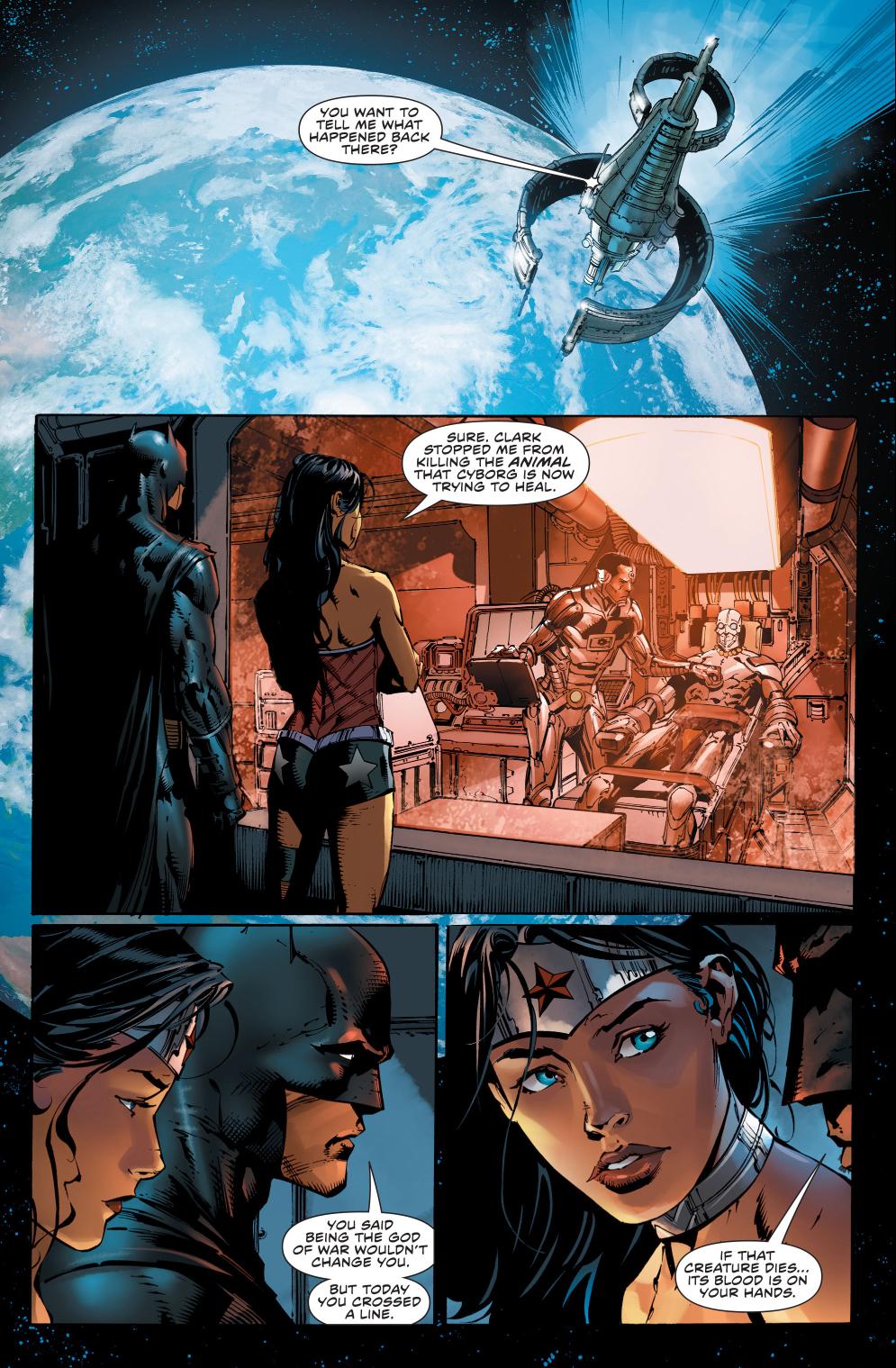 Wonder Woman Calls Out Batman On His Hypocrisy | Comicnewbies