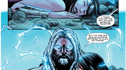 Wonder Woman Saves Zeus's Life