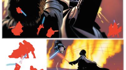 Anakin Skywalker VS Darth Vader