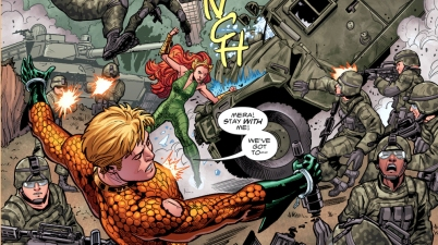 Aquaman And Mera VS The United States Military
