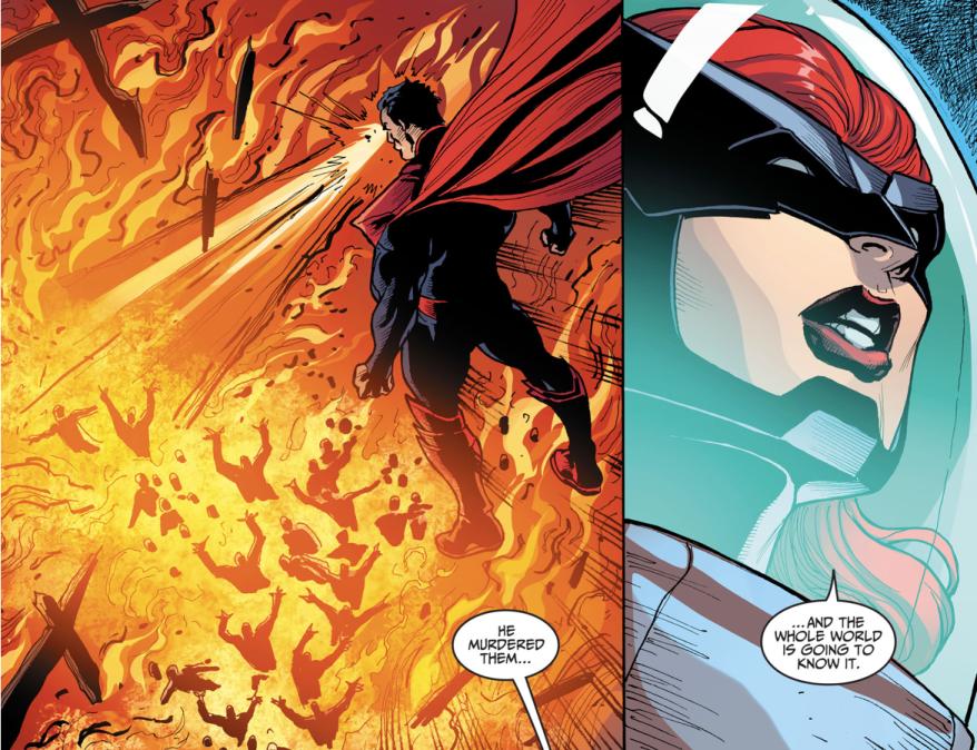 Batgirls Hacks Cyborg (Injustice Gods Among Us)