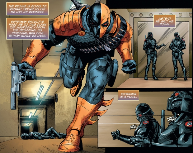Batman Recruits Deathstroke (Injustice Gods Among Us ...