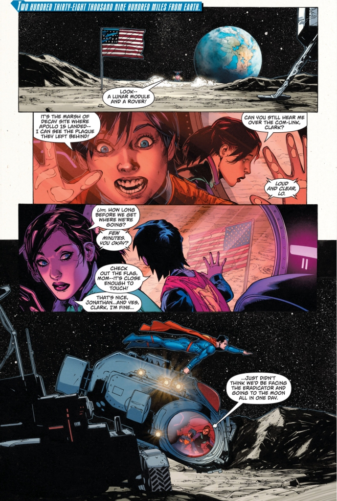 batman's hidden batcave on the moon