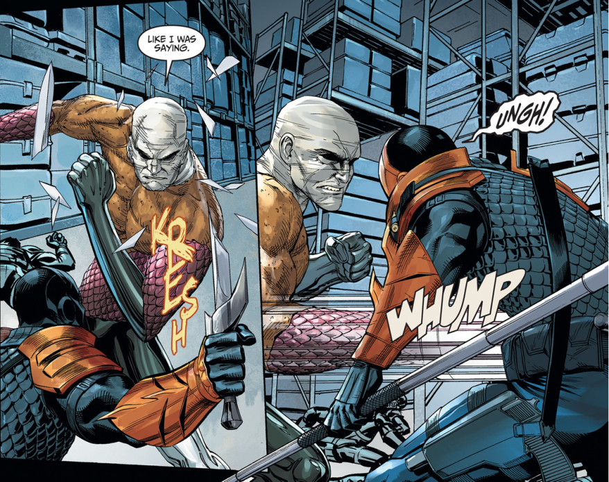 Deathstroke VS Metamorpho (Injustice Gods Among Us)