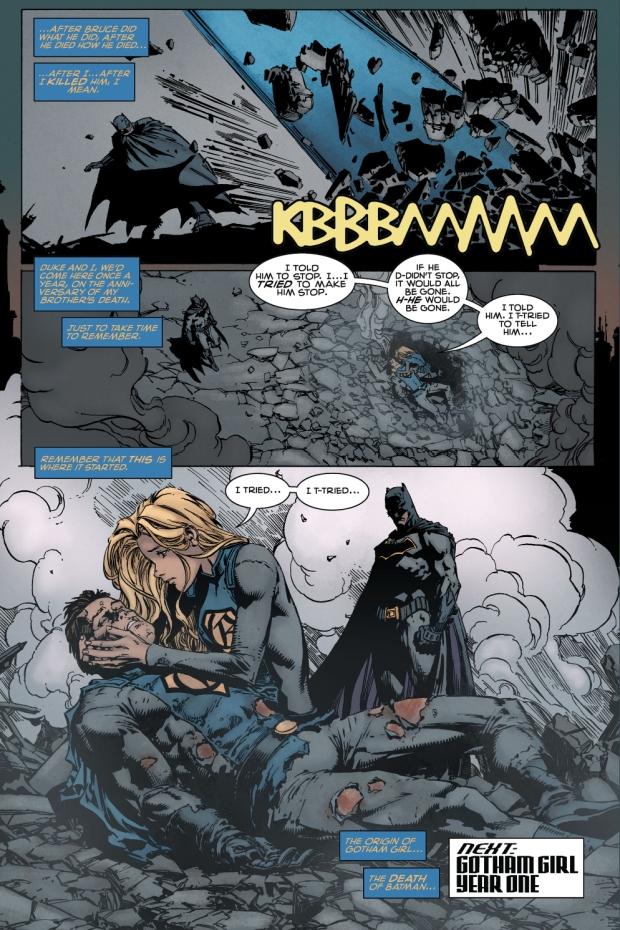 Gotham Girl Takes Down Gotham