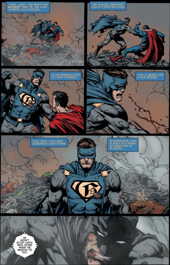 gotham vs the justice league