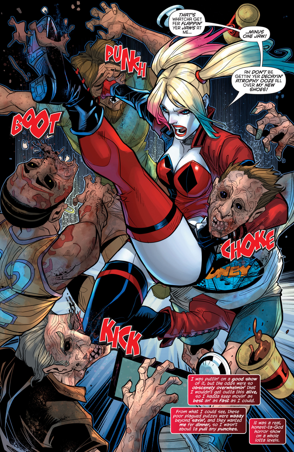 Harley Quinn Vs Zombies Comicnewbies