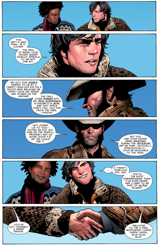 How Wolverine Recruited Northstar To The X-Men