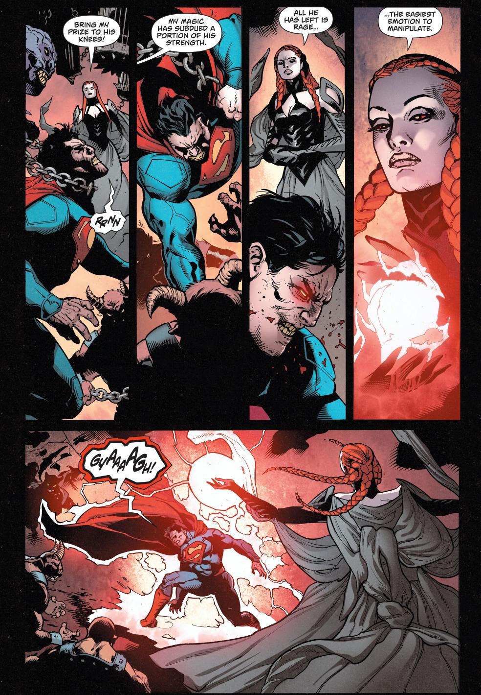 Magog VS Wonder Woman ...