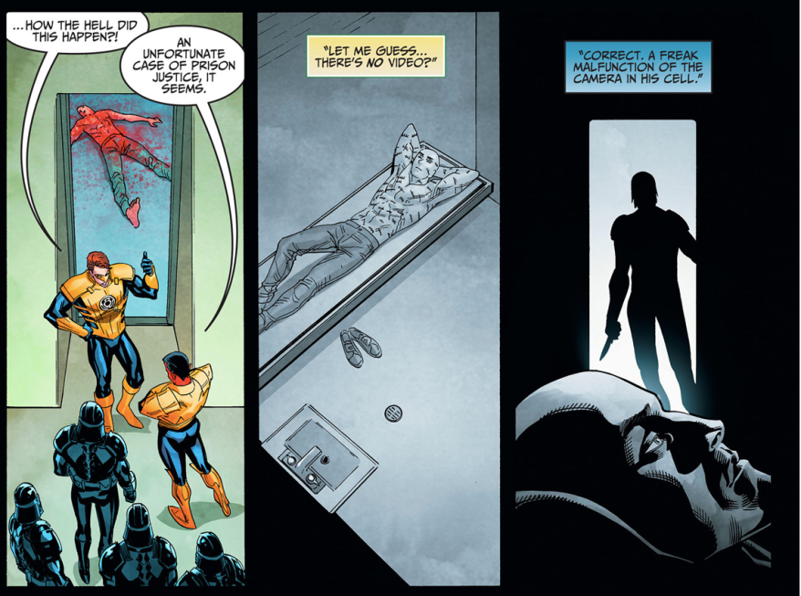 Nightwing Kills Victor Zsasz (Injustice Gods Among Us)