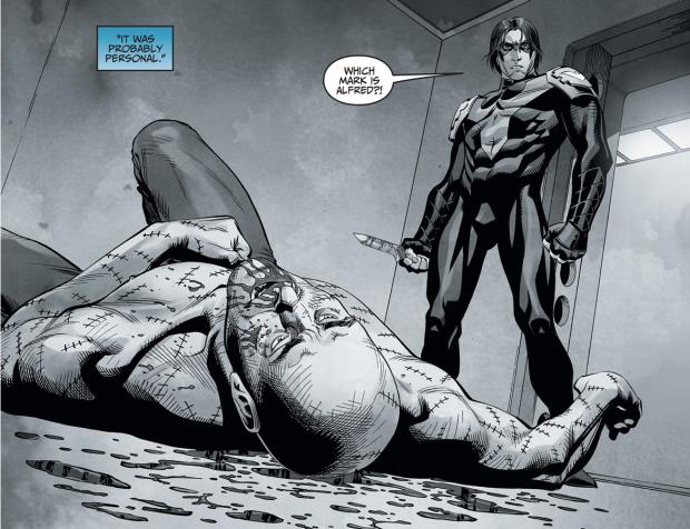 Nightwing Kills Victor Zsasz (Injustice Gods Among Us)