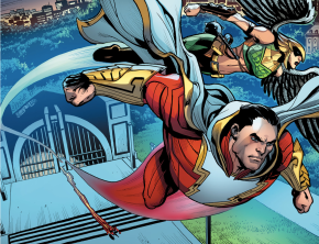 Shazam, Hawkgirl And The Flash (Injustice Gods Among Us)