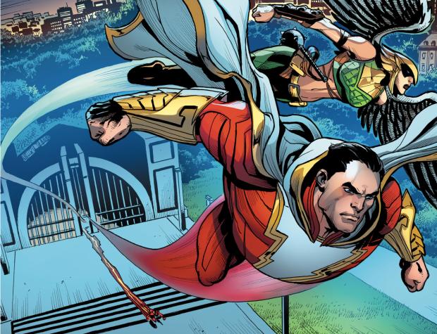 Shazam, Hawkgirl And The Flash (Injustice Gods Among Us)