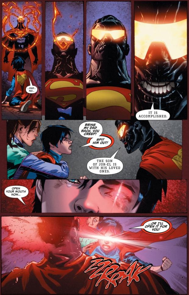 The Eradicator Absorbs Superman