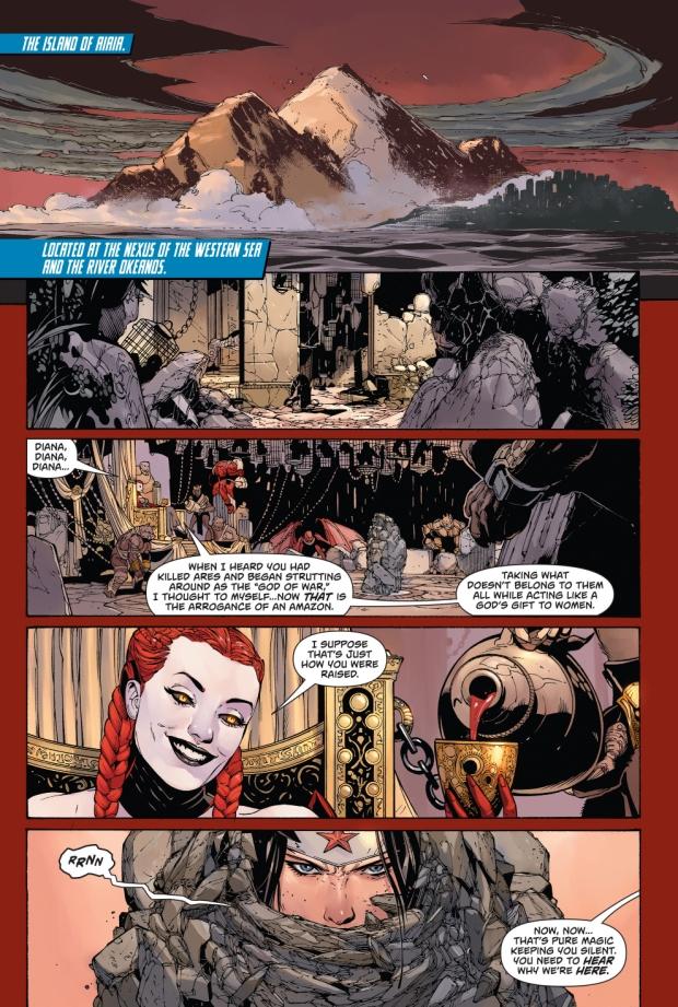Why Circe Hates Wonder Woman (New 52)