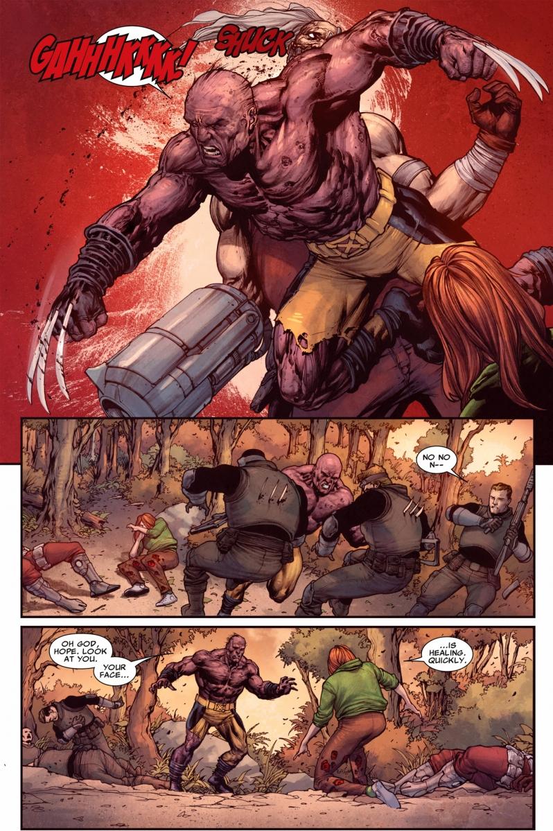 wolverine kills the crimson commando comicnewbies