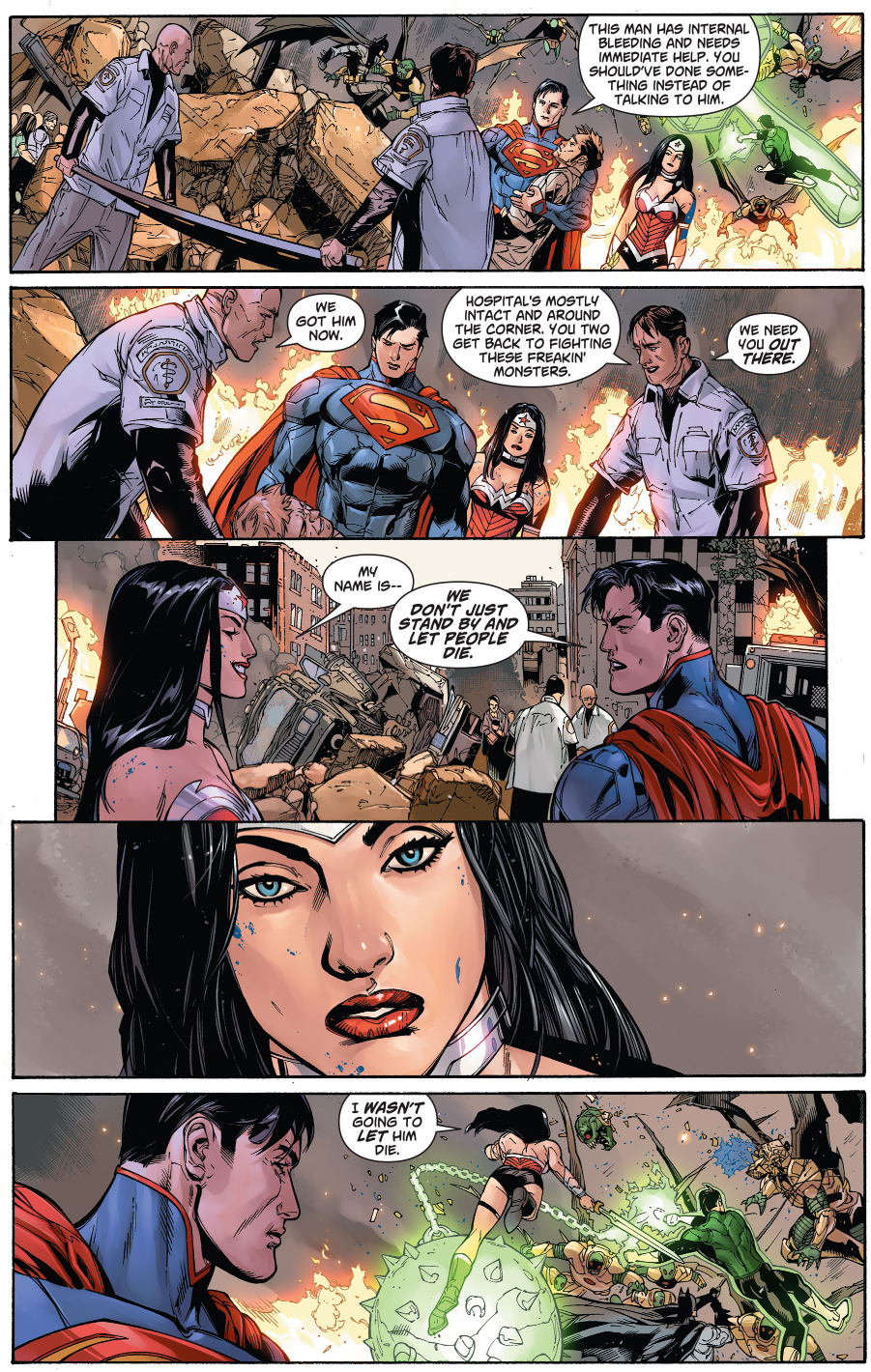 Wonder Woman And Supermans First Meeting New 52 -7081