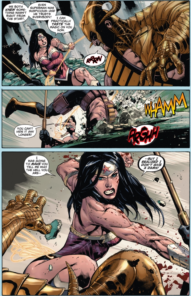 Wonder Woman VS Magog (New 52)