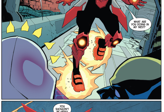 All New Wolverine And Spider-Gwen VS Red Hornet