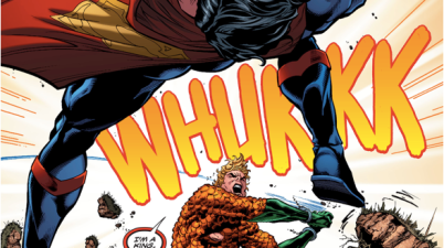 Aquaman And Mera VS Superman (Rebirth)