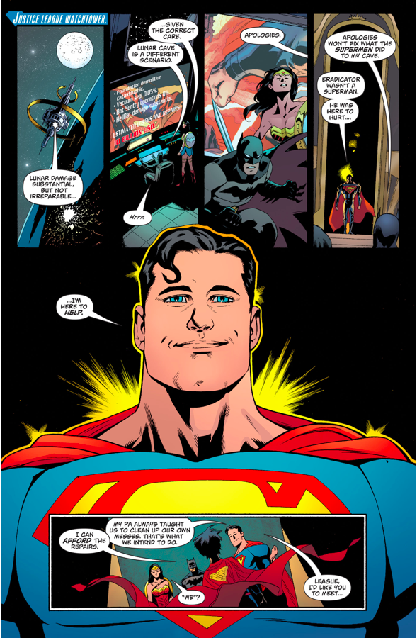 Batman And Wonder Woman Meets Superboy (Rebirth)
