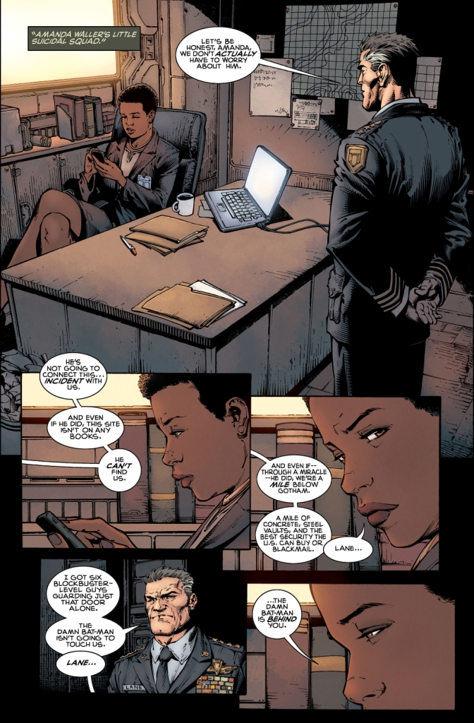 Batman Infiltrates Amanda Waller's Gotham Base