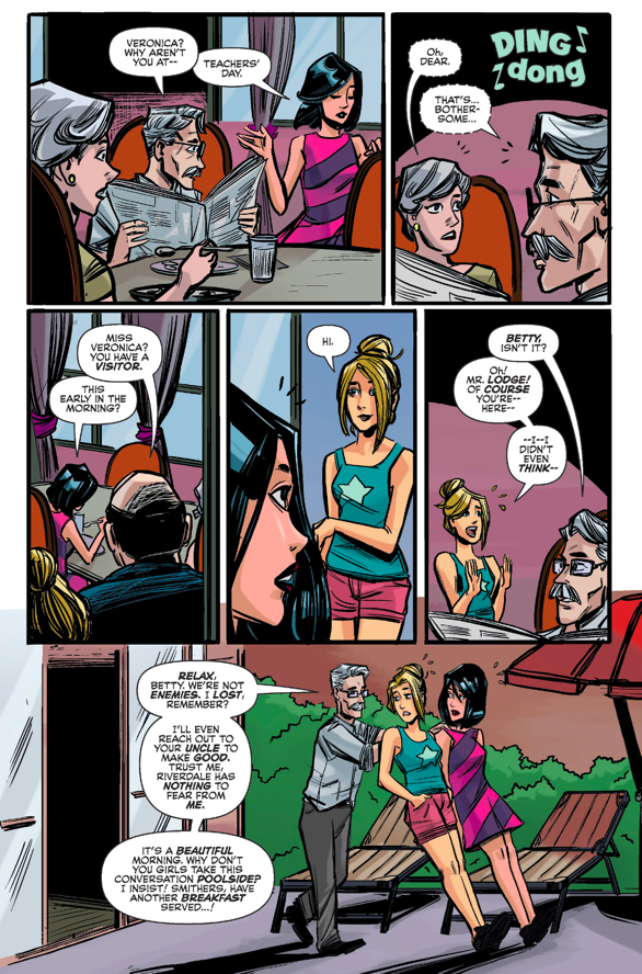 Betty And Veronica Becomes Friends