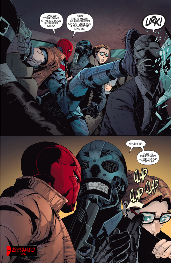 Black Mask Recruits Red Hood