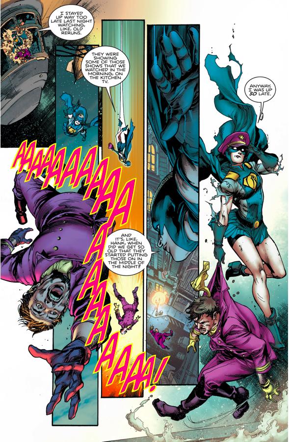 Gotham Girl Loses Her Mind