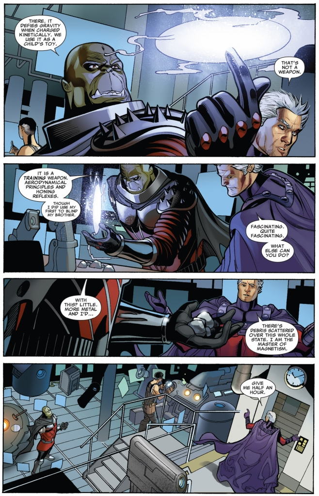 how kruun took out magneto