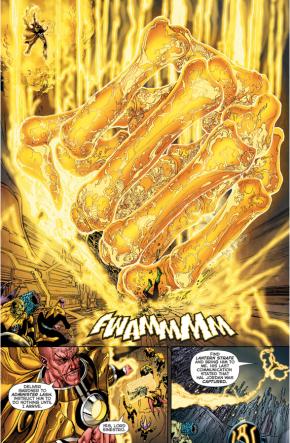 Sinestro Pummels Guy Gardner (Rebirth)