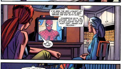 Spider-Man Denounces Iron Man's Side On TV (Civil War)