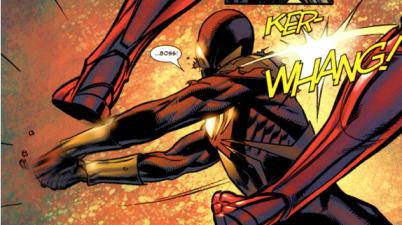 Spider-Man Hacks The Iron Spider Suit