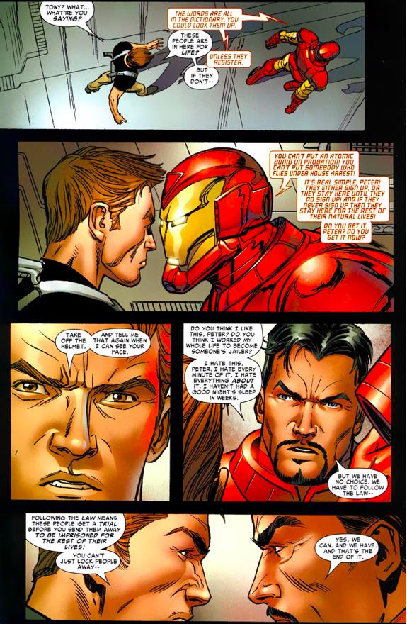 Spider-Man Visits Iron Man's Negative Zone Prison