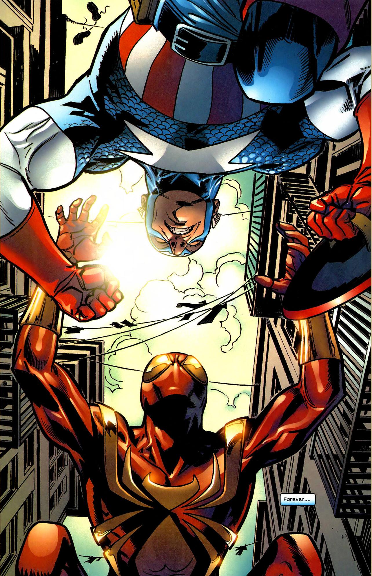 Spider-Man VS Captain America (Civil War)   Comicnewbies