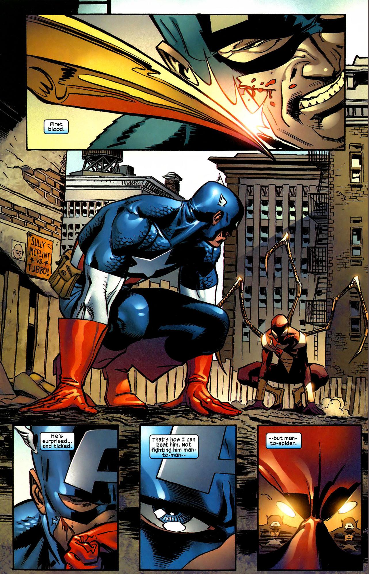 Spider-Man VS Captain America (Civil War) – Comicnewbies