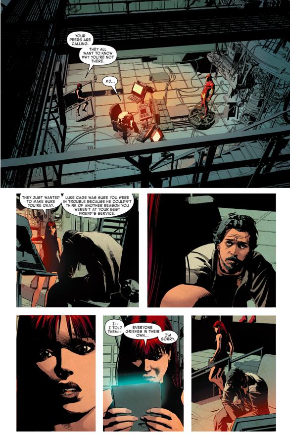 Tony Stark Mourns James Rhodes Death