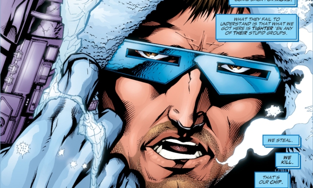 Captain Cold Describes The Rogues (Rogue War)