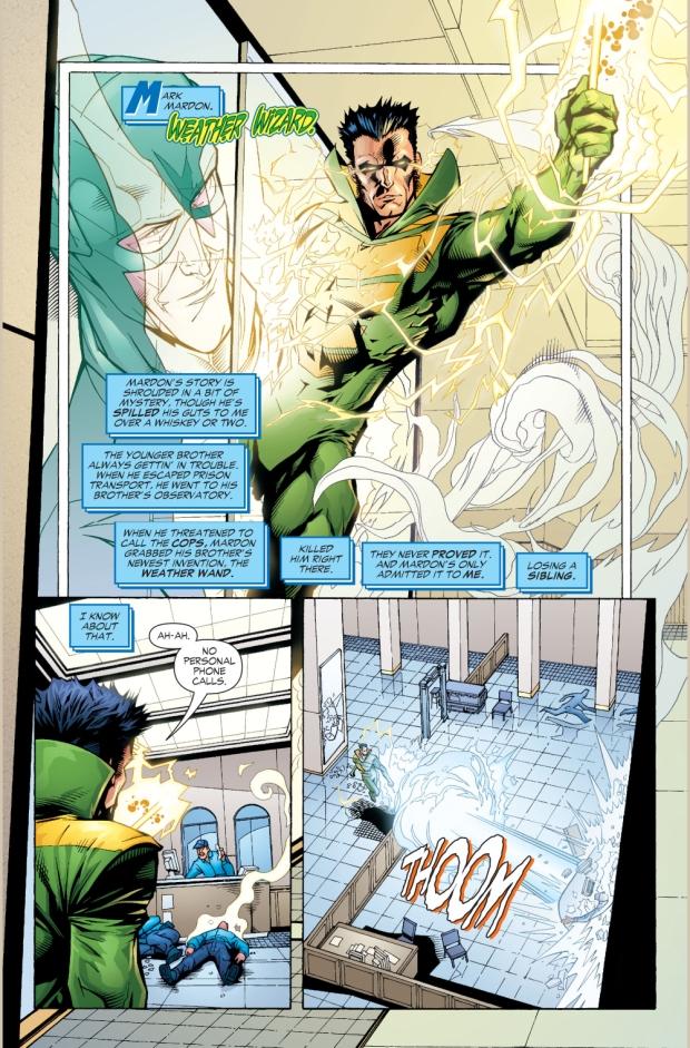 Captain Cold Describes The Rogues (Rogue War)