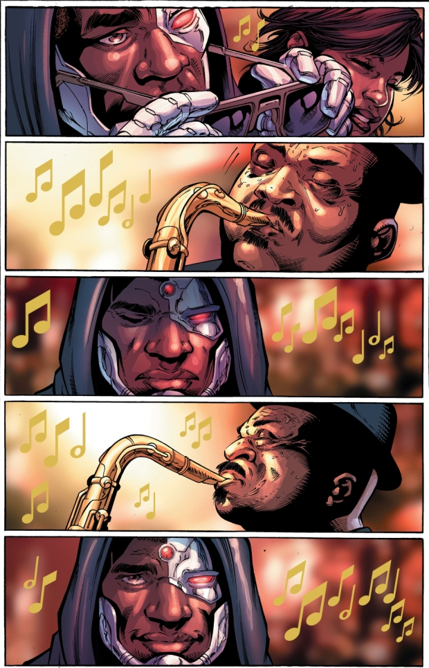 Cyborg Learns Why Jazz Music Is Great