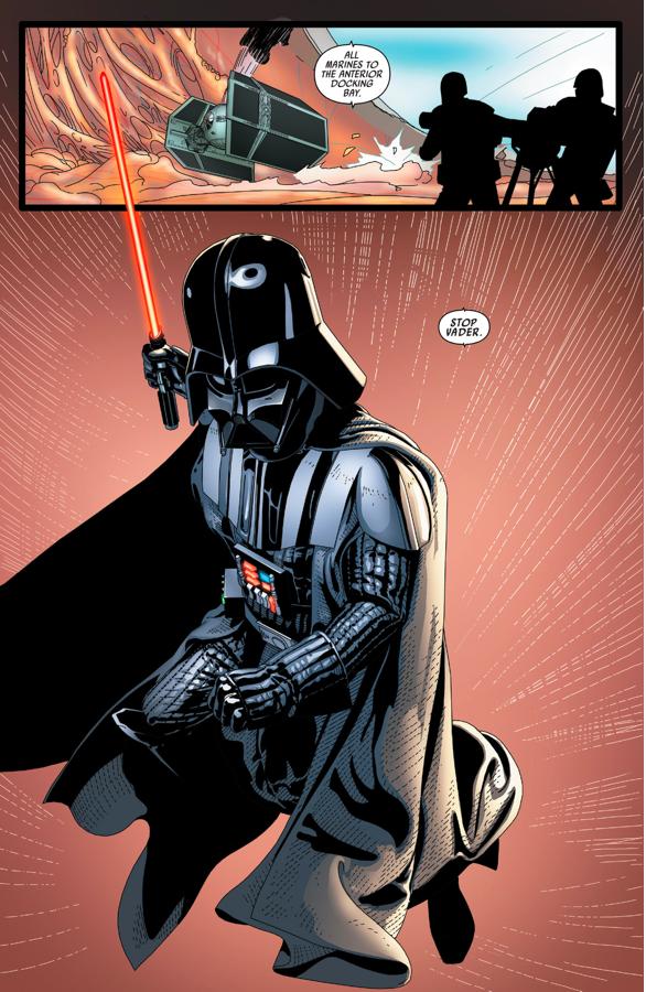 Darth Vader Kills Cylo And All His Clones