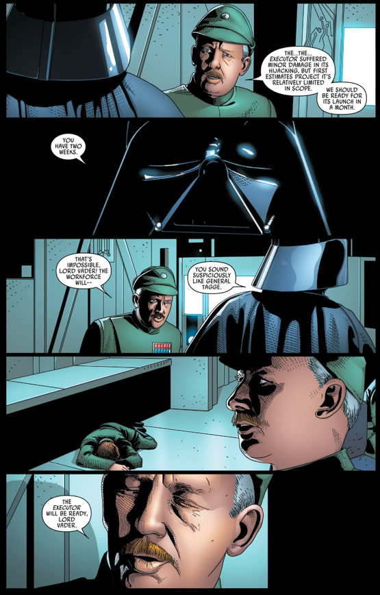 Darth Vader Kills Grand General Tagge