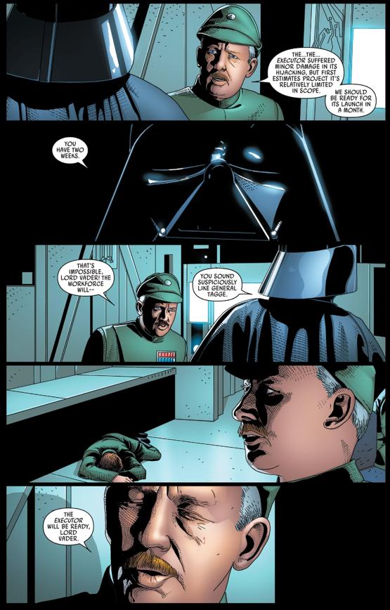 Darth Vader Kills Grand General Tagge