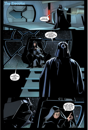 Doctor Aphra Betrays Darth Vader To The Emperor