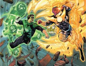 Green Lantern Hal Jordan VS Sinestro (Rebirth)