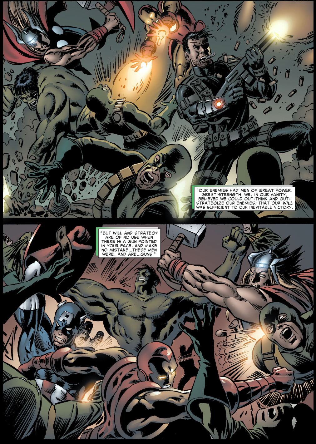 The Avengers: Hydra Clones The Avengers