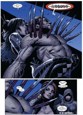 Lady Deathstrike Ambushes Wolverine