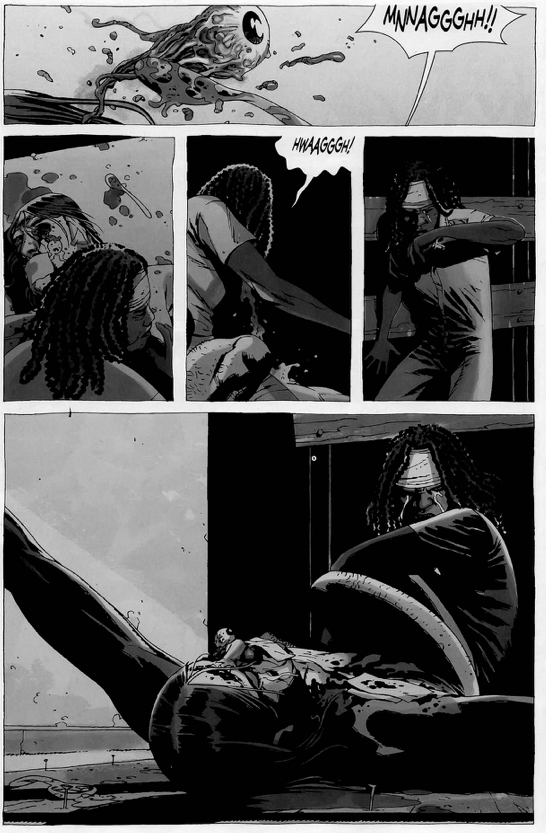 michonne tortures the governor the walking dead