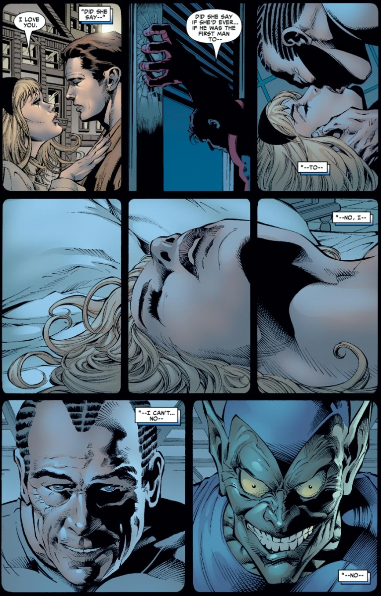 Spider-Man Learns Norman Osborn And Gwen Stacy Slept Together