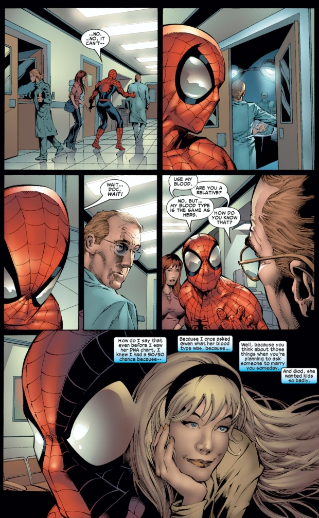Spider-Man Shares His Blood With Sarah Stacy